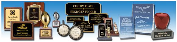 Roland EGX-20 Sample - Trophies, Plaques, Awards & Medallions